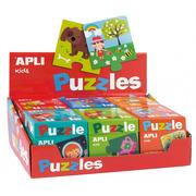 Apli Kids, Puzzle dwuczęściowe - Liczby 3+