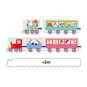 Apli Kids, Puzzle w kartonowym domku - Pociąg 3+