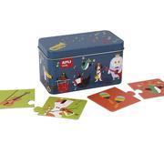 Apli Kids, Puzzle w metalowym pudełku - Instrumenty 3+