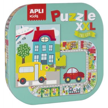 Apli Kids, Puzzle XXL - Miasto 3+