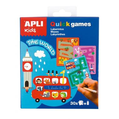 Apli Kids, Gra podróżna - Labirynty Świat
