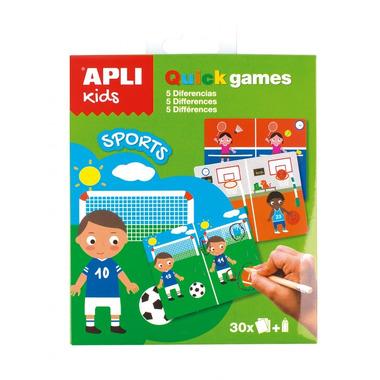 Apli Kids, Gra podróżna - Znajdź różnice Sport