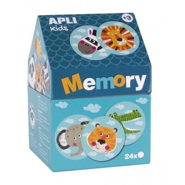 Apli Kids, Memory w kartonowym domku - Safari