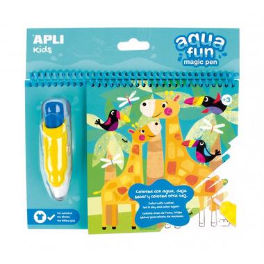 Apli Kids, Kolorowanka wodna - Dżungla