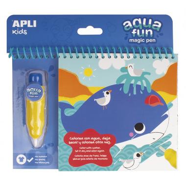 Apli Kids, Kolorowanka wodna - Morze