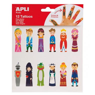 Apli Kids, Tatuaże na palce - Księżniczki i Smoki