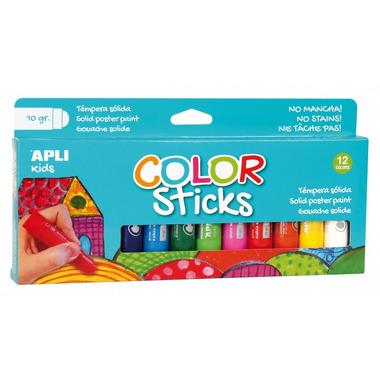 Apli Kids, Farby w kredce - 12 kolorów