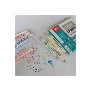 Apli Kids, Flamastry ze stempelkami - 10 kolorów