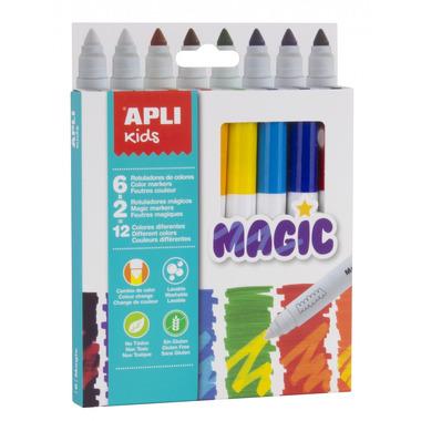 Apli Kids, Magiczne flamastry - 8 kolorów