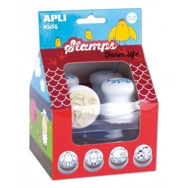 Apli Kids, Pierwsze stempelki - Farma 18m+