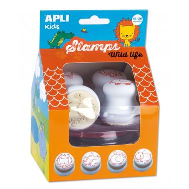 Apli Kids, Pierwsze stempelki - Zwierzęta 18m+