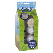 Apli Kids, Pierwsze stempelki z markerem - Zwierzęta Morskie 18m+