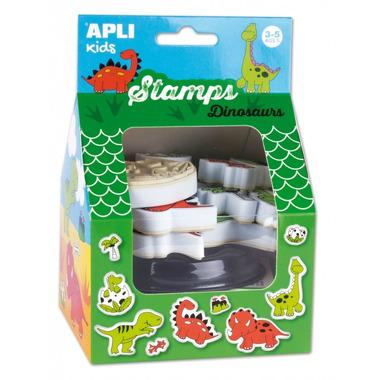 Apli Kids, Stempelki - Dinozaury 3+