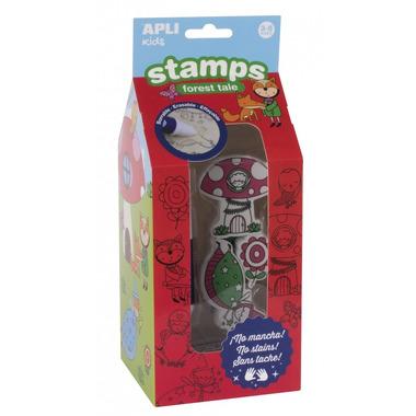 Apli Kids, Stempelki z markerem - Las 3+