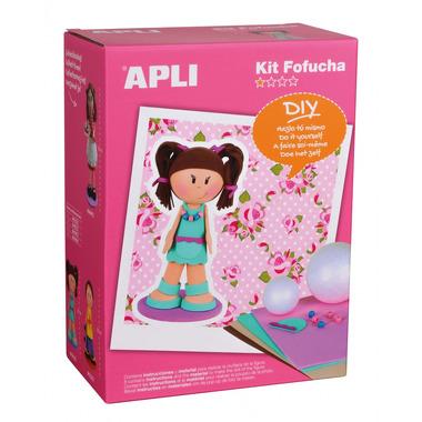 Apli Kids, Lalka Fofucha - Dziewczynka