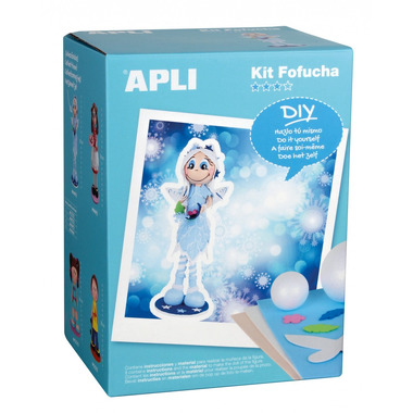 Apli Kids, Lalka Fofucha - Zimowa wróżka