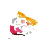 Apli Kids, Zestaw artystyczny - Księżniczka