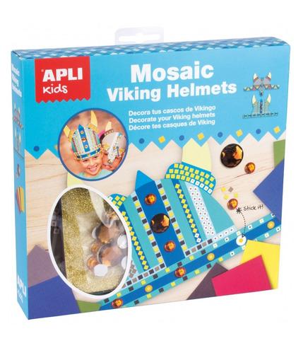 Apli Kids, Zestaw artystyczny mozaika - Hełm Wikinga