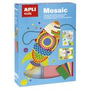 Apli Kids, Zestaw artystyczny mozaika - Transport