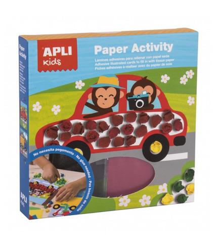 Apli Kids, Zestaw artystyczny z bibułą - Transport