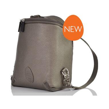PacaPod, Mini plecaczek/saszetka Adult Freedom Pod - metaliczny