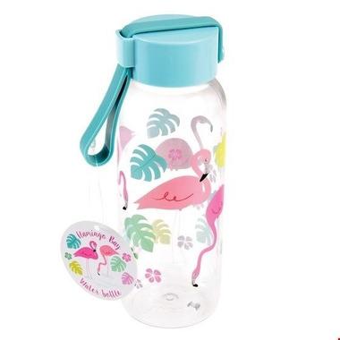 Rex, Mała butelka na wodę 340 ml, Flamingo Bay