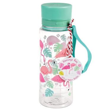 Rex, Butelka na wodę 600 ml, Flamingi