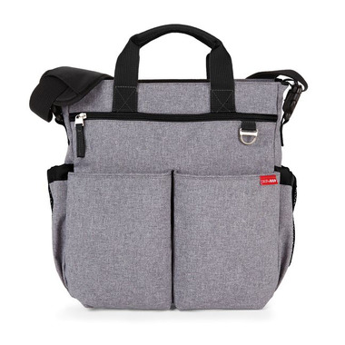 Skip Hop, torba Duo Signature Heather Grey