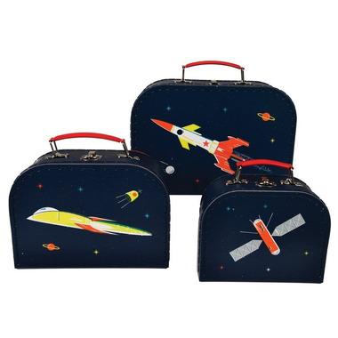 Rex, 3 piękne walizki kosmos