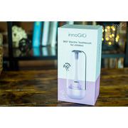 InnoGio, Soniczna elektryczna szczoteczka do zębów dla dzieci z funkcją 360° - fioletowa