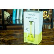 InnoGio, Soniczna elektryczna szczoteczka do zębów dla dzieci z funkcją 360° - żółta