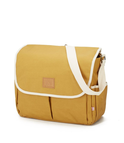 My Bag's, Torba do wózka Flap Bag Happy Family Ochre
