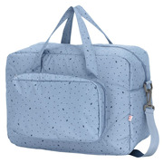 My Bag's, Torba Maternity Bag Leaf Blue