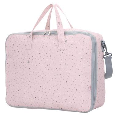 My Bag's, Torba Weekend Bag Leaf Pink