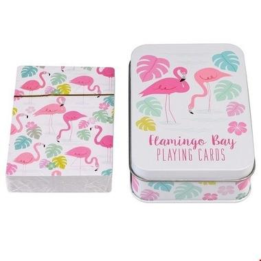 Rex, Karty do gry w puszce, Flamingi