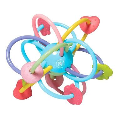 Manhattan Toy, Grzechotka gryzak Kolory szczęścia
