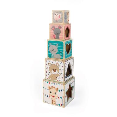 Janod, Piramida wieża drewniana Żyrafka Sophie