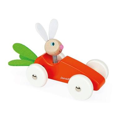 Janod, Drewniany samochód marchewka z Królikiem