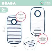 Beaba, Śliniak bawełniany Evolutive Stripes