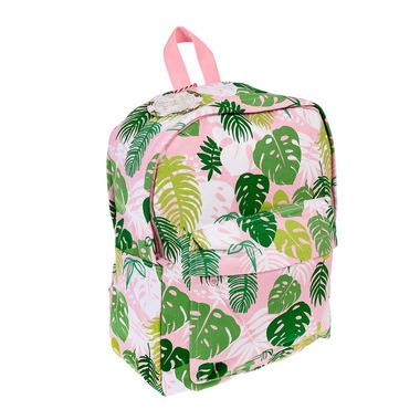 Rex, Duży plecak, tropikalne palmy