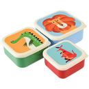 Rex, Zestaw trzech kolorowych pudełek na przekąski