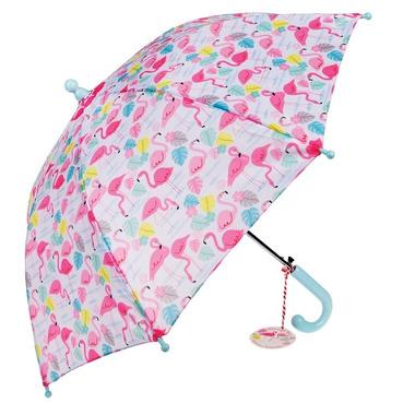Rex, parasol dla dziecka flamingi