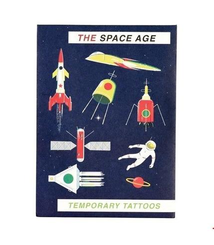 Rex, Zmywalne tatuaże dla dzieci era kosmiczna