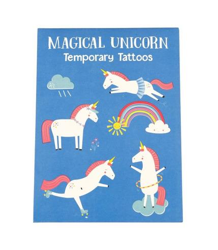 Rex, Zmywalne tatuaże dla dzieci magiczny jednorożec