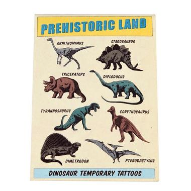 Rex, Zmywalne tatuaże dla dzieci dinozaury