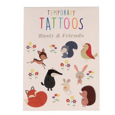 Rex, Zmywalne tatuaże dla dzieci przyjaciele