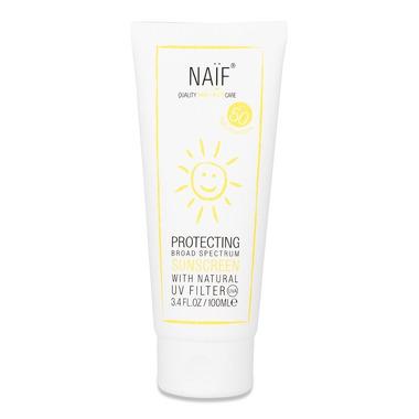 Naif, Krem przeciwsłoneczny z filtrem SPF 50 dla niemowląt, 100 ml