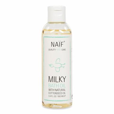 Naif, Mleczny olejek do kąpieli 100% naturalny, 100 ml