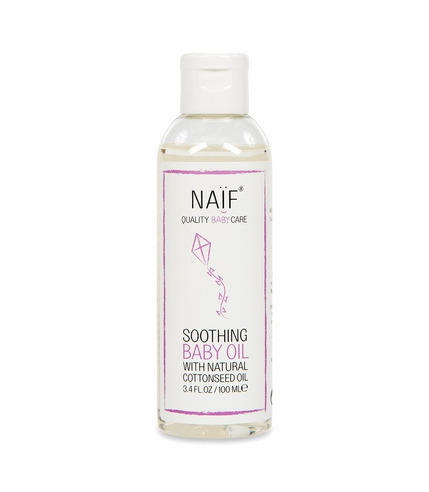 Naif, Kojący olejek dla niemowląt 100% naturalny, 100 ml