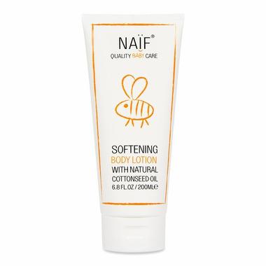 Naif, Balsam zmiękczający do ciała dla niemowląt, 100% naturalny, 200 ml